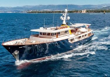 Arionas charter yacht
