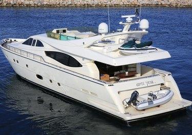 Ade Yeia charter yacht