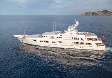 Callisto charter yacht