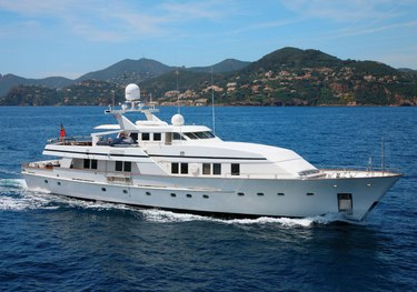 DOA charter yacht