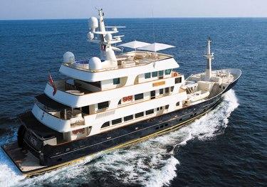 Big Aron charter yacht
