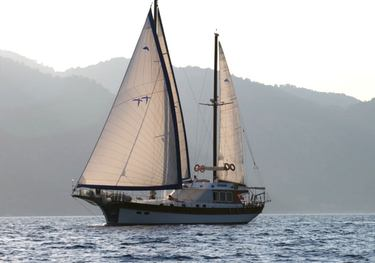 Serenity 70 charter yacht
