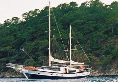Amazon Creek charter yacht