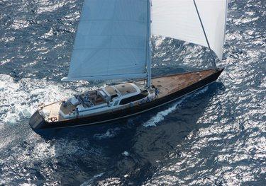 Mystery charter yacht