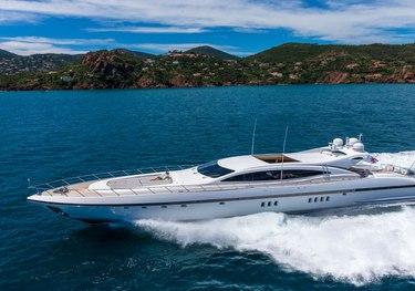 Lady B charter yacht