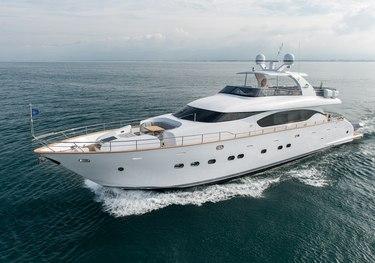 Miredo charter yacht