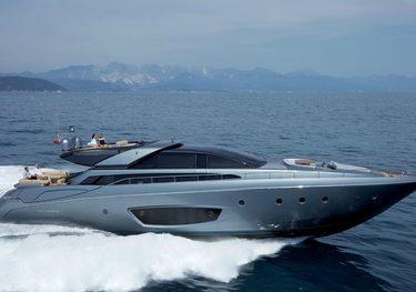 Rhino A charter yacht