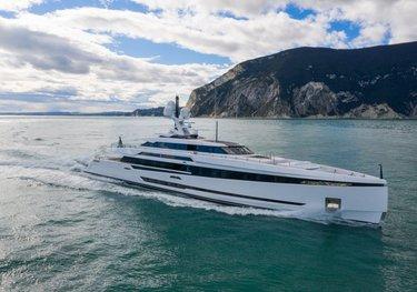 K2 charter yacht