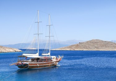 Athen.A charter yacht