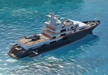 Planet Nine charter yacht