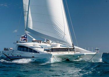 Blue Gryphon charter yacht
