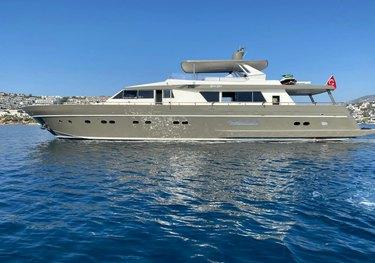 Bona Dea charter yacht