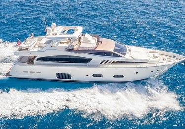 Bizman charter yacht