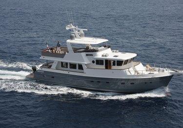 Silver Fox charter yacht