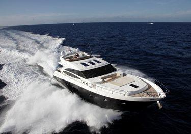 Baggio charter yacht