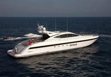 Enzo charter yacht