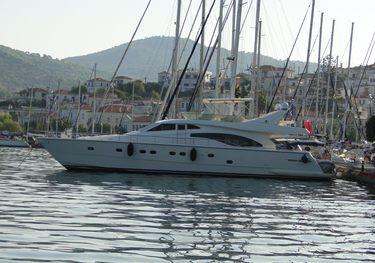 Kialoa charter yacht