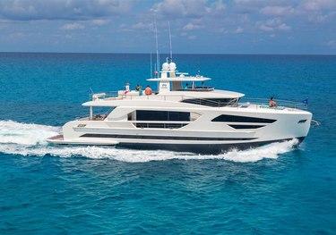 Angeleyes charter yacht