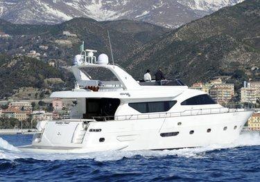Happy Feet charter yacht