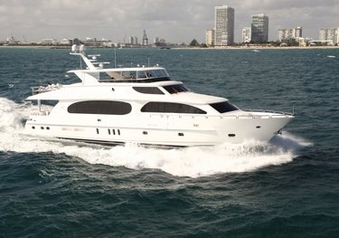 Carbon Copy charter yacht