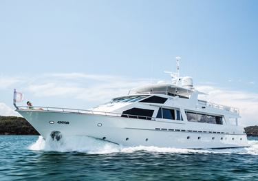 Corroboree charter yacht