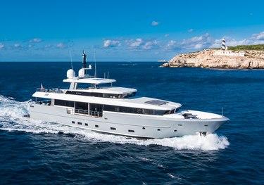 Neverland charter yacht
