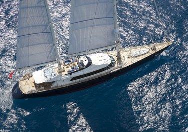 Thalia charter yacht