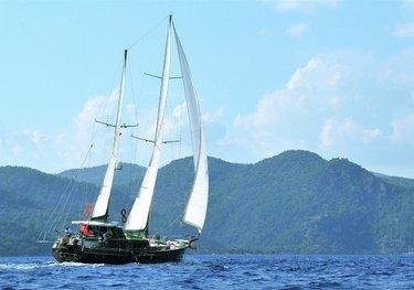 Altair charter yacht