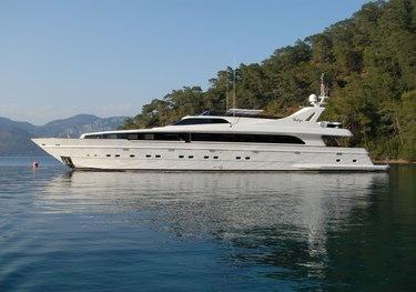 Crocus charter yacht