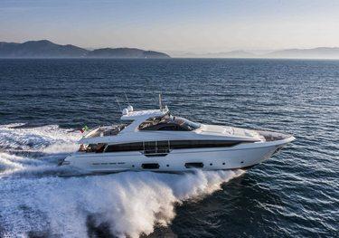Azmim charter yacht