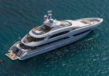 Asya charter yacht