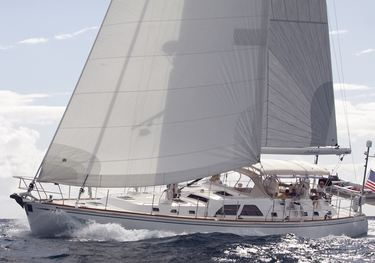 Laetitia charter yacht
