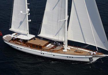 TC128-3 charter yacht