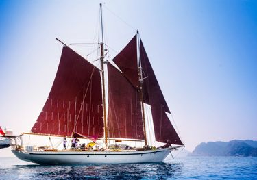 Borkumriff II charter yacht