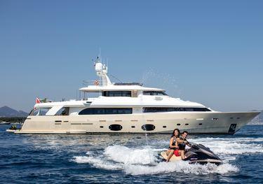 Antheya III charter yacht