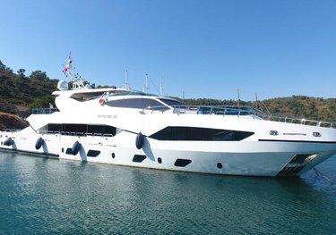 Destiny charter yacht