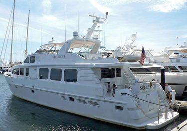 Seraph charter yacht