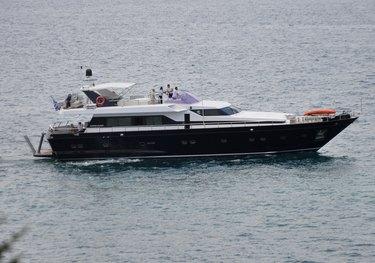 Shiva charter yacht
