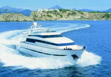 Carom charter yacht