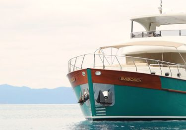 Babosch charter yacht