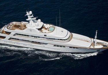 Flag charter yacht