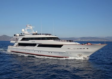 Code 8 charter yacht