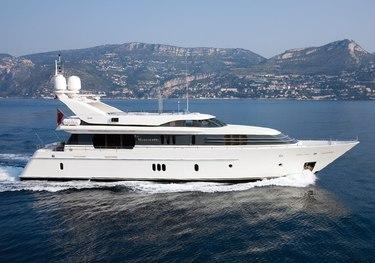 La Mascarade charter yacht