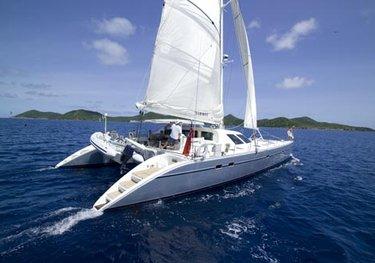 Marmot charter yacht