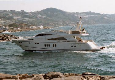 Xchè charter yacht