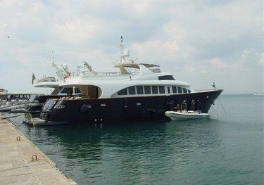 Bugia charter yacht