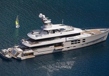 Big Fish charter yacht
