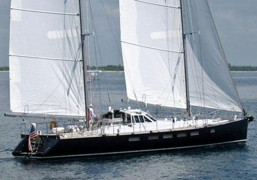 Meta IV charter yacht