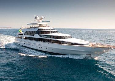 Azzurra II charter yacht