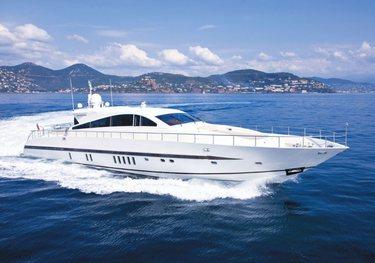 Caramia charter yacht